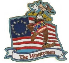 Disney - Goofy The Minutemen Mickey's Star Spangled Pin Event pin/pins - $49.99