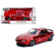 New 1990 Mazda Miata \Endless\ Candy Red \JDM Tuners\ 1/24 Diecast Model Car by - $32.69