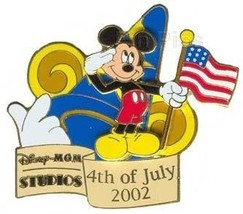 Disney MGM Studios - 4th of July 2002 Celebration Mickey pin/pins - $34.99