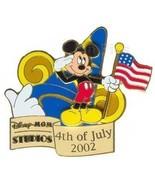 Disney MGM Studios - 4th of July 2002 Celebration Mickey pin/pins - $34.99