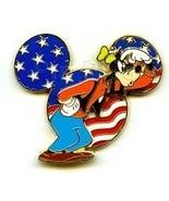 Disney Mickey Head Goofy DLR Cast Member - Patriotic 3D pin/pins - $39.99