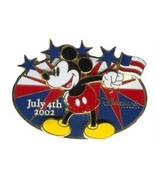 Disney Mickey Mouse DLR - 4th of July American flag USA FLAG pin/pins - $29.99