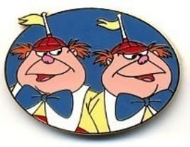 Disney Tweedle Dee & Dum WDW Cast Lanyard never sold pin/pins - $29.99