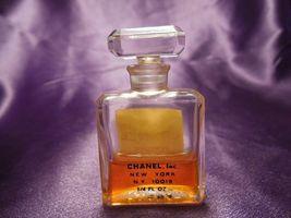 Vintage No. 5 Chanel Perfume 1/4 fl oz Bottle w/ Box Size 9 image 7