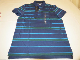 Men's Tommy Hilfiger Polo shirt  logo 7868266 Navy Blazer 416 XL Custom Fit NWT - $66.32