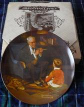 KNOWLES/Norman Rockwell collectors plate 'The Tycoon'-BOXED - $29.99