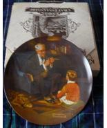 KNOWLES/Norman Rockwell collectors plate 'The T... - $29.99