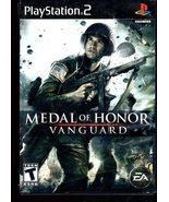 PlayStation 2 - Medal Of Honor - Vanguard - $10.00