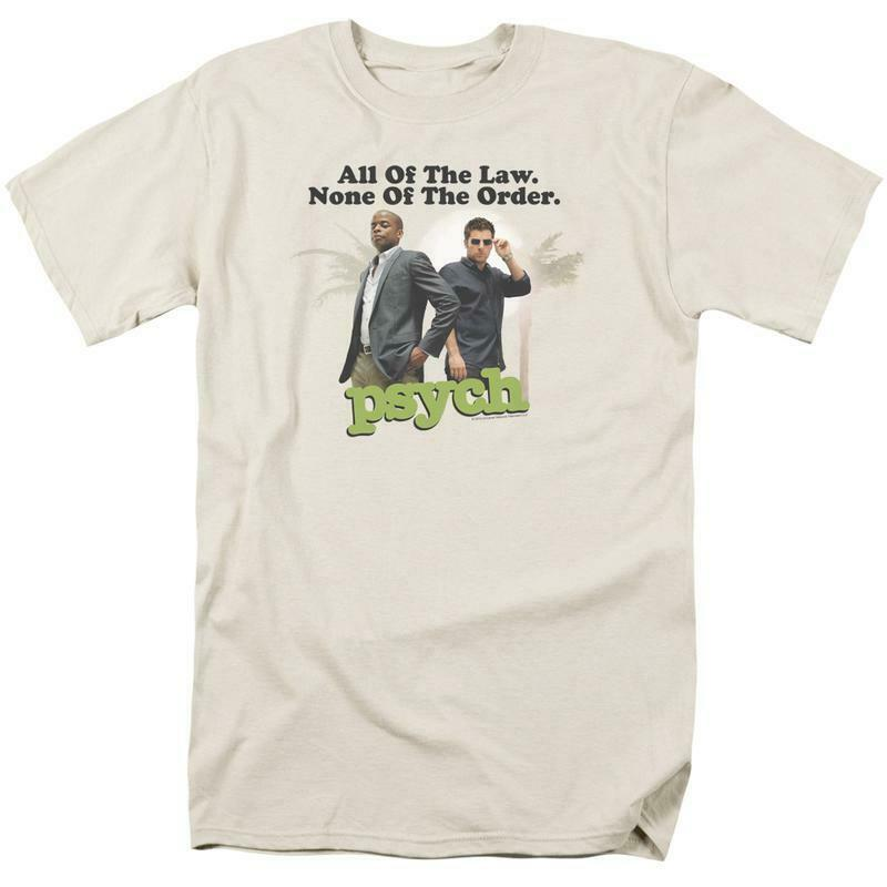 All of the Law None of the Order t-shirt TV series Psych graphic tee NBC689