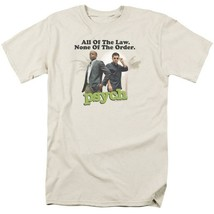 All of the Law None of the Order t-shirt TV series Psych graphic tee NBC689 image 1