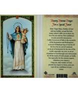 5 Card Lot - Rosary Novena Prayer For A Special Favor Laminated Prayer C... - $9.46