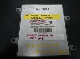 2007 SUZUKI FORENZA 2.0-L ECM # 96832811  KMBK (BOX-9888)  MATCH PART #+... - $24.70