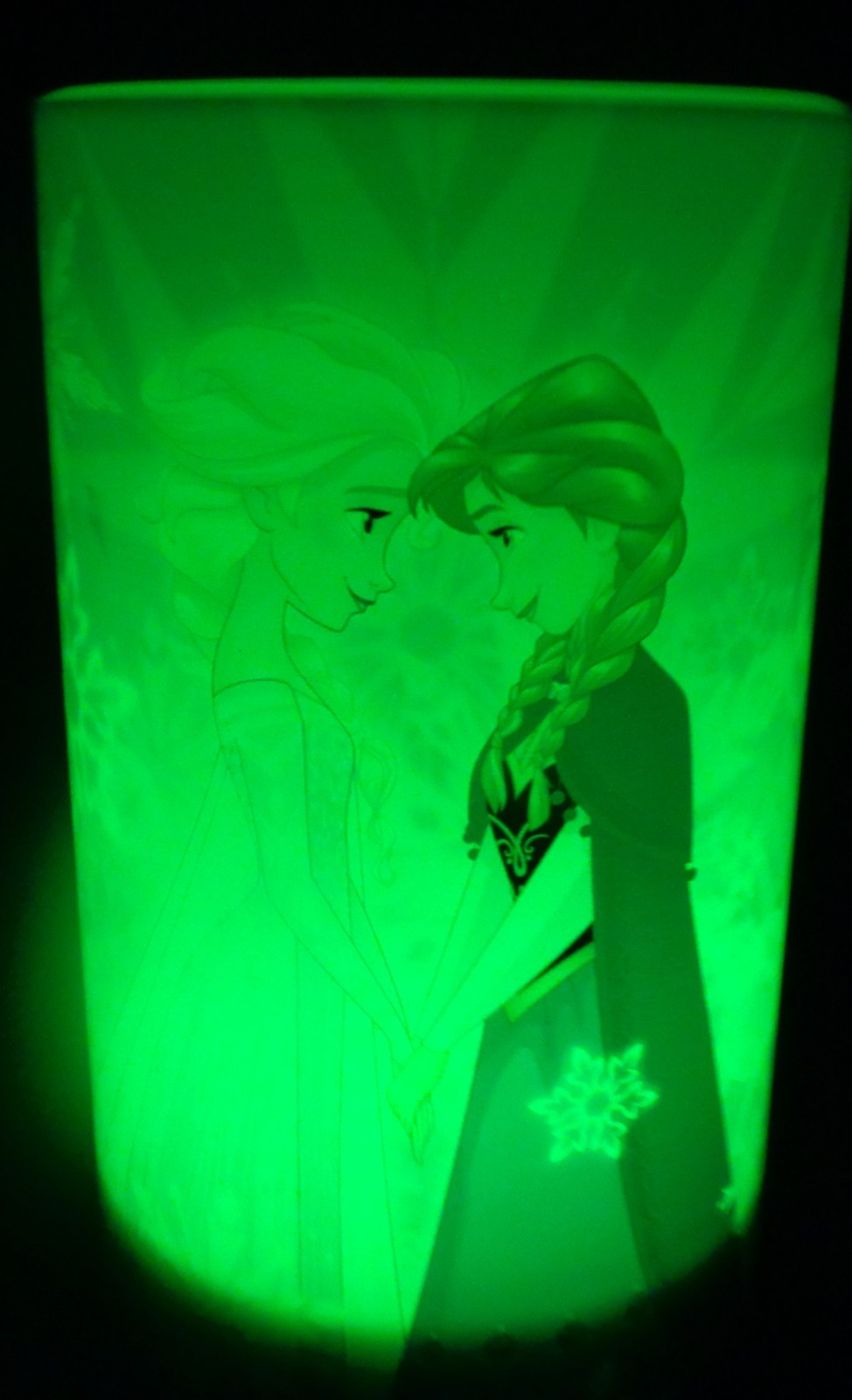 Flameless LED Candle Frozen Elsa Anna Flicker Color Changing NIB AA Batteries
