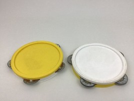 Tambourine 921 Marching Band Drum Set Replacement Toys Fisher Price Vint... - $12.82