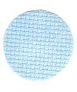 Bluebell 14ct Hand Dyed Aida Jobelan 13x18 (1/8... - $7.20