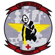 US Army 45th Aviation Medical Company Air Ambulance Patch DUSTOFF AIR AMB - $11.87