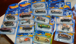 Lot of 16 Hot Wheels Cars Hot Rods Custom Cars NIP Years 2000 2001 NEW NIP - $19.60