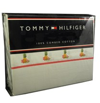 Tommy Hilfiger Castle Island Sheet Set Full 100% COTTON 200TC MULTI FLOR... - $64.90