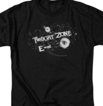 The Twilight Zone E=mc t-shirt retro 50's 60's sci-fi TV graphic tee CBS106 image 3