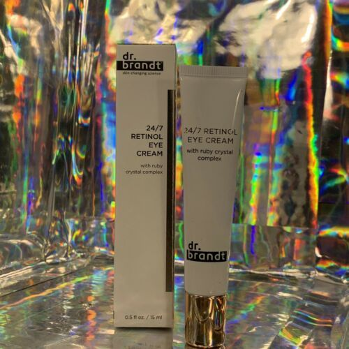 NEW IN BOX Dr. Brandt 24/7 Retinol Eye Cream 15mL all Skin Types