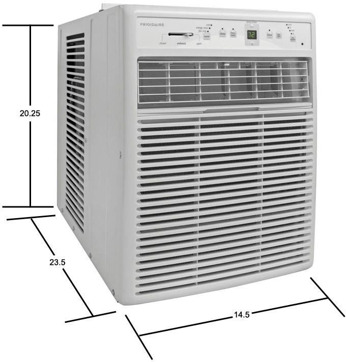 Frigidaire Window Air Conditioner 115 Volt 3 Cooling Fan