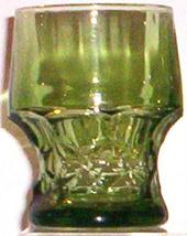 Mid Century Modern 1960'S RETRO--ANCHOR Hocking Glass - $5.95