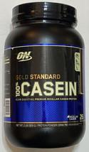 ON gold Standard 100% Casein Chocolate Supreme 2 lb 11/2021 - $34.65