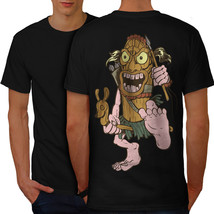 Animated Hunter Shirt Funny Men T-shirt Back - $12.99+