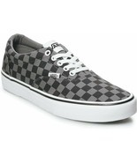 MEN'S VANS DOHENY VN0A3MTFEO0 (CHECKERBOARD) BLACK/PEWTER DS BRAND NEW - $52.11 CAD