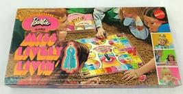 COMPLETE Vintage Mattel Barbie Board Game MISS LIVELY LIVIN' Kids Fun 19... - $44.99