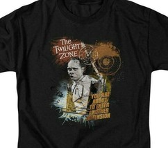 The Twilight Zone t-shirt Another Dimension retro Sci-Fi graphic tee CBS765 image 2