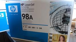 New Sealed HP LaserJet 98A Cartridge - $24.67
