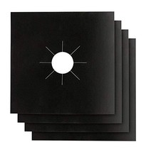 Gas Stove Burner Ranges Covers 4PACK - Stove Top Liners - Gas Range Prot... - $8.63