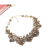 All Match Statement Jewelry Factory Direct Hollow Out Clovers Zinc Alloy - $13.47