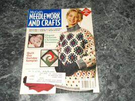 Mccall's Needlework & Crafts Magazine December 1991 Festive Star - $2.69