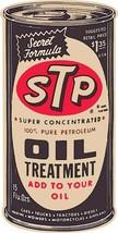 STP Oil Treatment Plasma Cut Can Metal Sign - $49.95