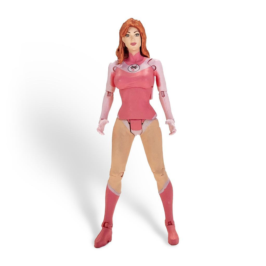 Invincible Atom Eve Mcfarlane Figure Action Toy Full Color ECCC 2018
