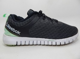 Reebok Z Rated Size US 7 M (B) EU 37.5 Women's Running Shoes Black Green BS7165