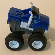 Blaze And The Monster Machines Pull Back Plastic Toy Car Crusher 2014 Mattel - $9.99