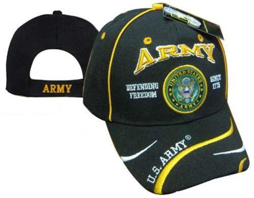 US ARMY Defending Freedom - Military Officially Licensed Baseball Cap Hat
