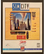 SimCity Enhanced Version PC 1994 Rare Big Box New Sealed - $125.00