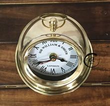 Christmas Beautiful Desktop Clock Analogue Battery Clocks Premium Gift Home Deco - $36.96