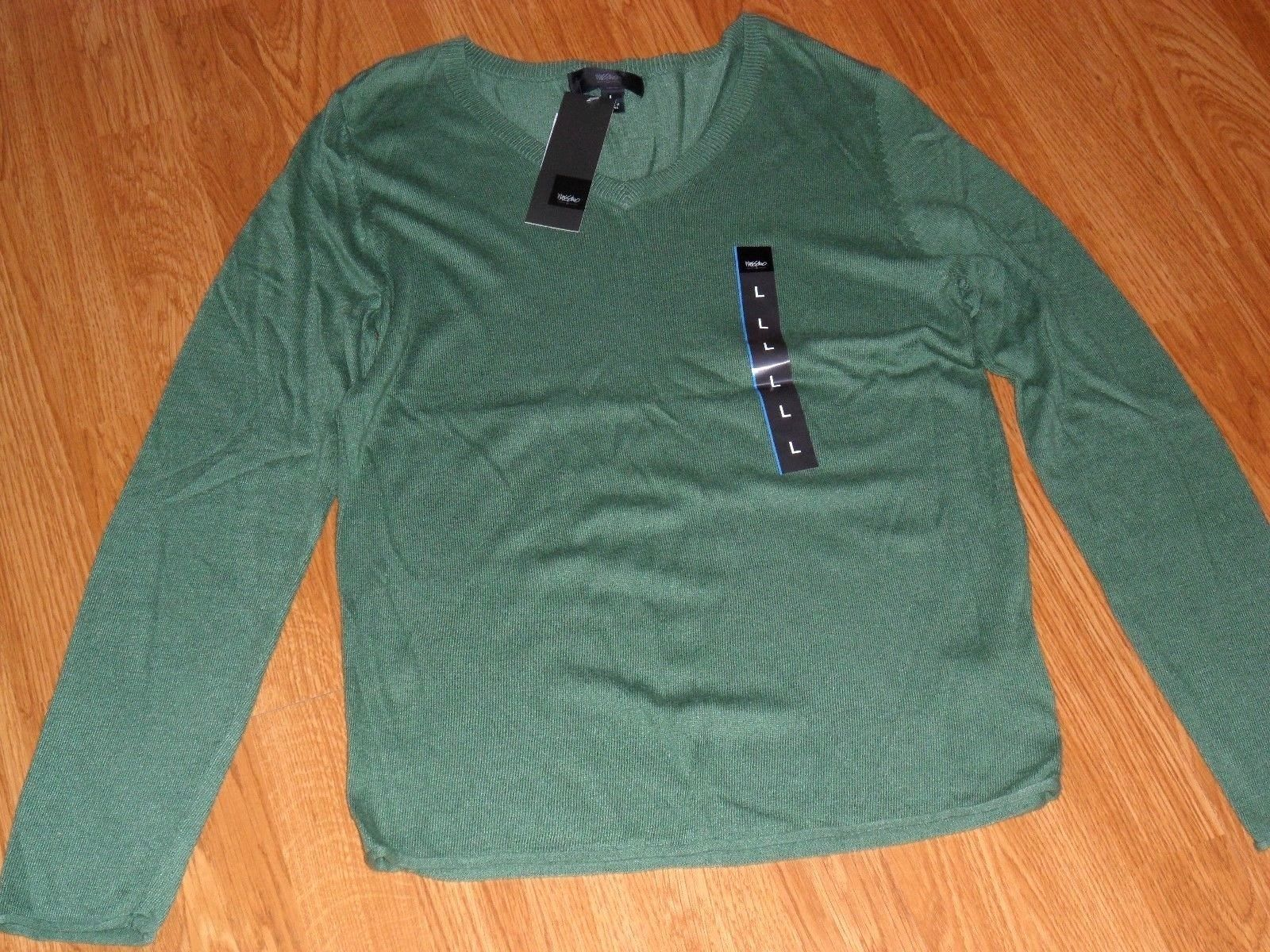 MISSIMO SWEATER TOP PULLOVER SIZE XS - L - XL GREEN PURPLE GRAY LIGHTWEIGHT NWT