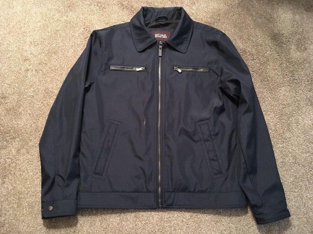 Men's Michael Kors Lightweight Jacket Windbreaker Coat, Size M - $36.99