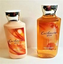Bath & Body Works Cashmere Glow Body Lotion & Shower Gel Set, Retired Scent - $25.00