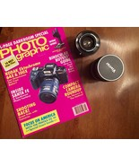 Lot of 2  Vivita Camera Lenses Plus Vintage Photo Graphic Magazine - $59.99