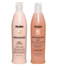 RUSK Sensories Pure Mandarin and Jasmine Vibrant Color Shampoo/Pure Conditioner