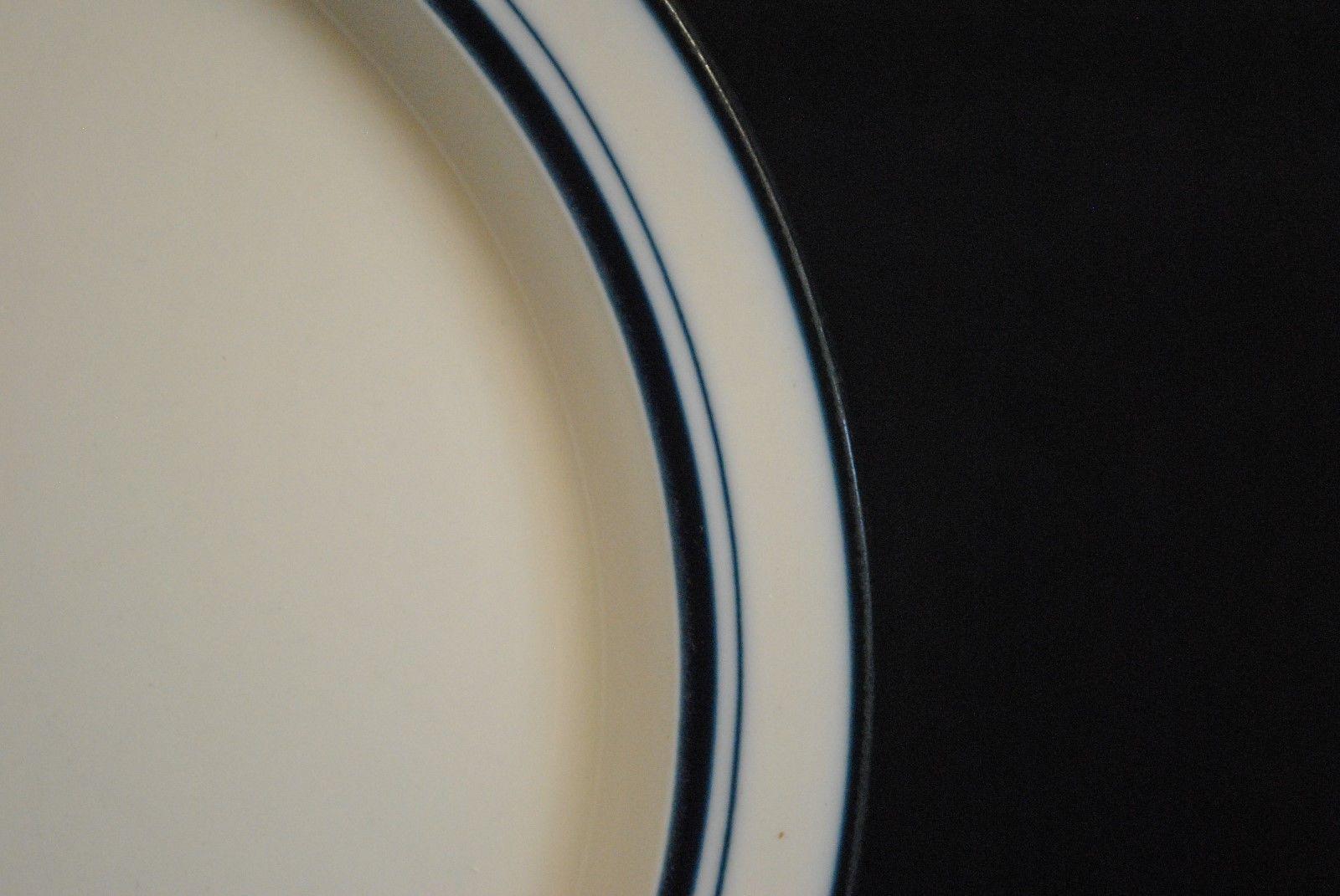 Dansk Flora Bayberry Blue White 7.25 Bread Plate Portugal