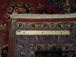 11x17 Red Traditional Handmade Fine Quality Sheik Safi Najaf Persian Rug image 8
