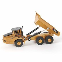 TongLi 7712 Indoor 1:50 Static Metal Dump Truck Toy Small Diecast Construction V